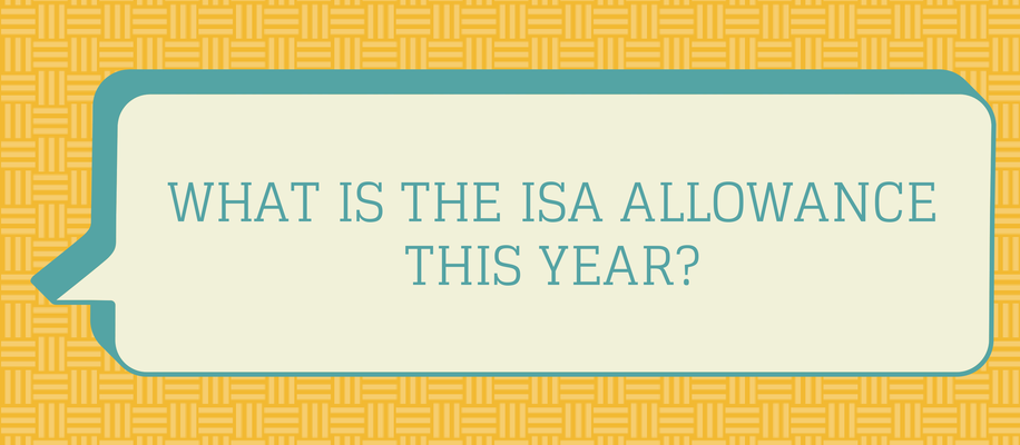 what is the ISA allowance?